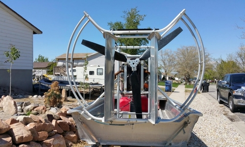 Image of Hydroslide mini airboat 12 Wet Nymph for sale in United States of America for $15,000 (£11,643) Magna, Utah, United States of America