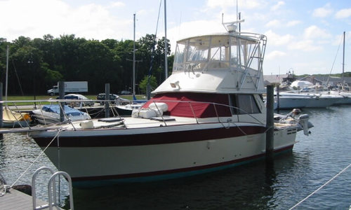 Image of Trojan 36 Flybridge Convertible for sale in United States of America for $51,850 (£39,293) East Hampton, New York, United States of America
