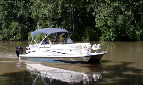 Image of Bennington Custom Twin Engine Catamaran 26 for sale in United States of America for $40,000 (£29,097) Slidell, Louisiana, United States of America