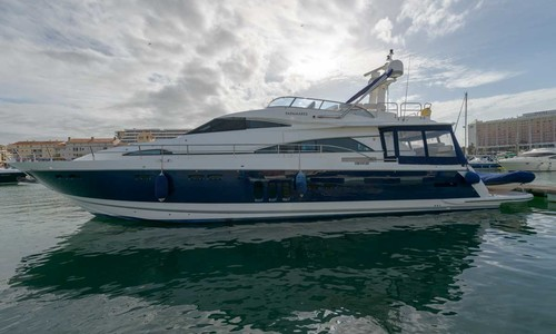 Image of Fairline Squadron 70 for sale in Portugal for €990,000 (£872,931) Vilamoura, Portugal