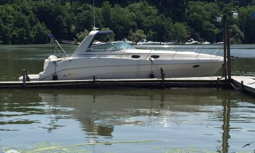 Image of Rinker Fiesta Vee 342 for sale in United States of America for $57,900 (£42,118) Rochester, New York, United States of America