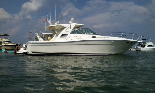 Image of Sea Ray 370 Express Cruiser for sale in United States of America for $89,900 (£65,212) Harrison Township, Michigan, United States of America