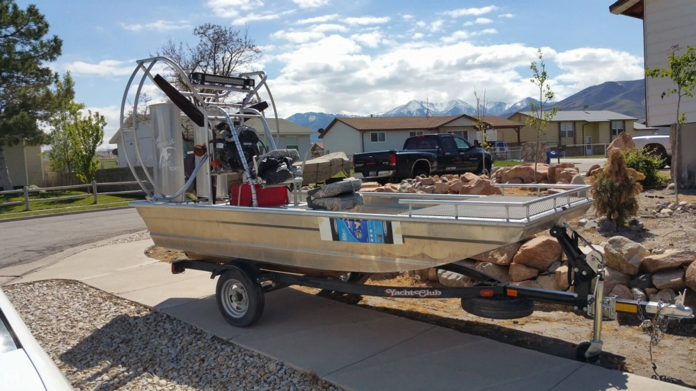 Hydroslide Mini Airboat 12 Wet Nymph For Sale In United