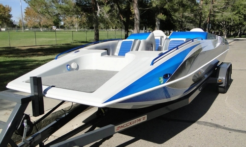 Image of Shockwave 22 Deck Boat for sale in United States of America for $67,800 (£51,373) Lancaster, California, United States of America