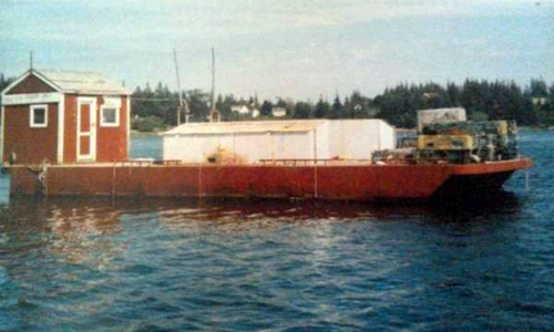 Image of Corten Steel 20' x 52' Barge for sale in United States of America for $49,000 (£35,417) Thomaston, Maine, United States of America