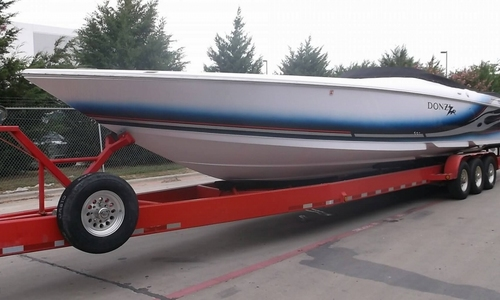 Image of Donzi 43ZR for sale in United States of America for $215,000 (£153,927) Frisco, Texas, United States of America