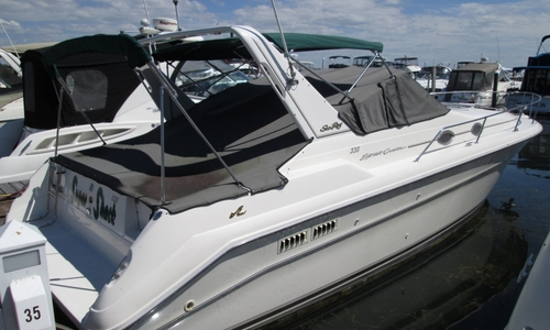 Image of Sea Ray 330 Express for sale in United States of America for $24,500 (£17,822) Grand Island, New York, United States of America