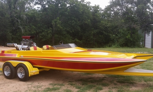Image of Liberator 21 Drag Boat for sale in United States of America for $21,500 (£15,416) Marble Falls, Texas, United States of America