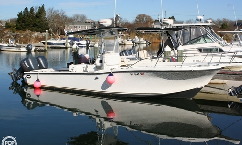 Image of Dusky Marine 256 Center Console for sale in United States of America for 19.500 $ (13.883 £) Charlestown, Rhode Island, United States of America