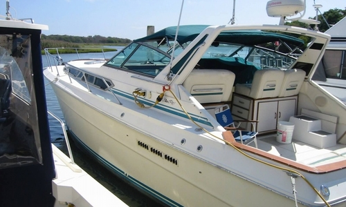 Image of Sea Ray 390 Express for sale in United States of America for $14,000 (£10,547) Sayville, New York, United States of America