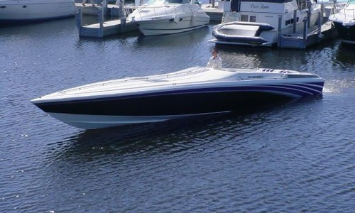 Image of Scarab 43 Thunder for sale in United States of America for $66,000 (£52,756) Lake Dallas, Texas, United States of America