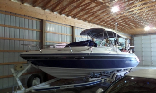 Image of Rinker Festiva Vee 230 for sale in United States of America for $14,500 (£10,919) Saginaw, Michigan, United States of America