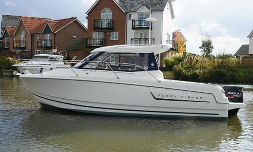 Image of Jeanneau Merry Fisher 755 Marlin for sale in United Kingdom for £41,950 Burton Waters, United Kingdom
