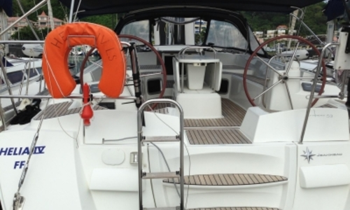 Image of Jeanneau Sun Odyssey 53 for sale in France for €200,000 (£175,750) LE MARIN, France