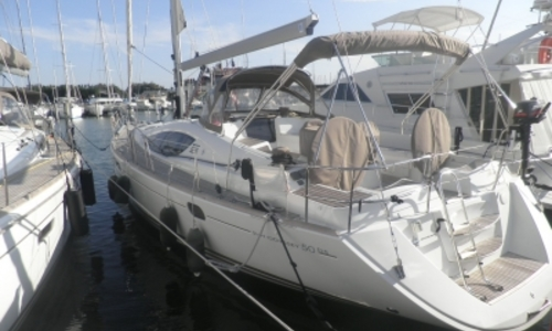 Image of Jeanneau Sun Odyssey 50 DS for sale in France for €230,000 (£207,230) LA GRANDE MOTTE, France