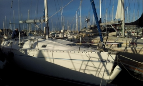 Image of Beneteau Oceanis 351 for sale in France for €55,000 (£48,928) ST VAAST LA HOUGUE, France