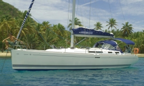 Image of Dufour 455 Grand Large for sale in France for €120,000 (£104,440) SAINT MALO, France