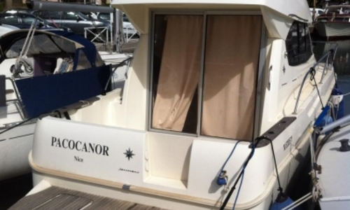 Image of Jeanneau Merry Fisher 8 for sale in France for €66,900 (£59,682) ANTIBES, France