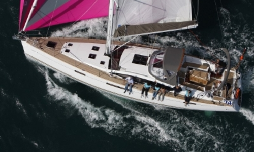 Image of Jeanneau Sun Odyssey 57 for sale in France for €390,000 (£345,582) HYERES, France