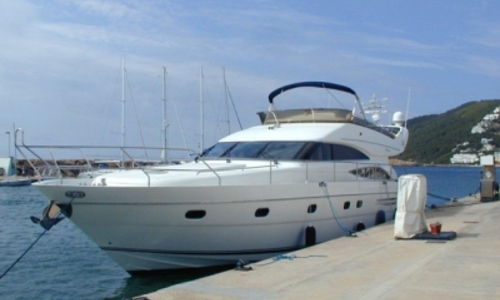 Image of Princess 61 for sale in Spain for €350,000 (£304,615) Spain