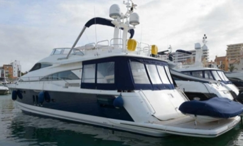Image of Fairline Squadron 70 for sale in Portugal for €990,000 (£875,634) ALGARVE, Portugal