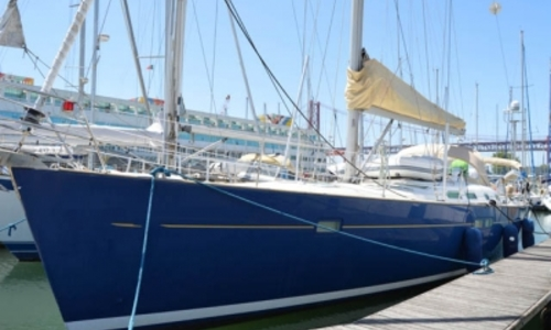 Image of Beneteau Oceanis 473 Shallow Draft for sale in Portugal for €130,000 (£116,065) LISBON, Portugal