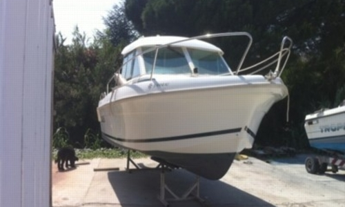 Image of Jeanneau Merry Fisher 625 for sale in France for €18,000 (£16,132) LE LAVANDOU, France