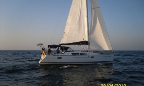 Image of Jeanneau Sun Odyssey 39i for sale in France for €89,000 (£77,811) CAVALAIRE SUR MER, France