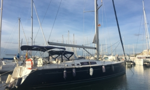 Image of Beneteau Oceanis 54 for sale in Spain for €198,000 (£177,451) CAMBRILS, Spain