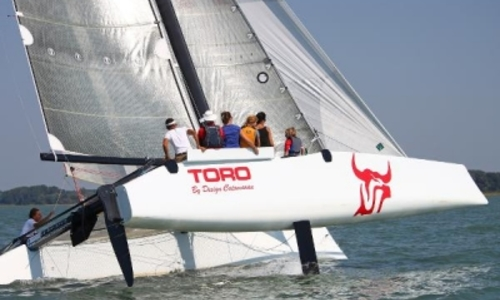 Image of DESIGN CATAMARAN DESIGN 34 TORO for sale in Saint Martin for €135,000 (£118,569) CARIBBEAN, Saint Martin