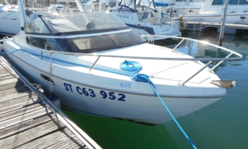 Image of Jeanneau Leader 655 for sale in France for €6,000 (£5,370) LA GRANDE MOTTE, France