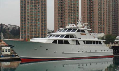 Image of Broward Trideck Motoryacht for sale in Hong Kong for $1,250,000 (£956,169) Hong Kong