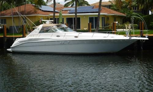 Image of Sea Ray 450 Sundancer for sale in United States of America for $105,000 (£79,642) Fort Lauderdale, FL, United States of America