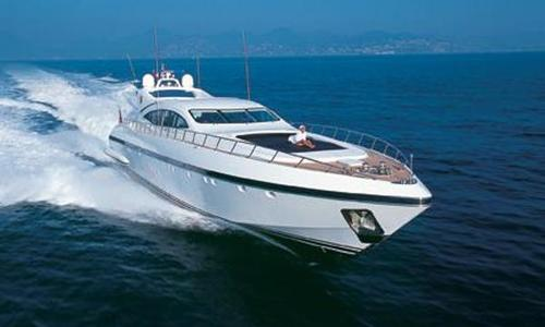 Image of Mangusta 108 for sale in Italy for €1,950,000 (£1,727,912) Italy