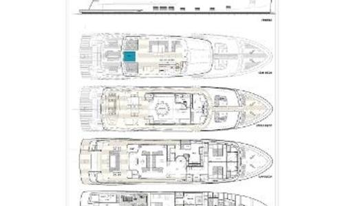 Image of Cantiere delle Marche Nauta Air 108 for sale in United States of America for €11,300,000 (£10,087,034) Fort Lauderdale, FL, United States of America