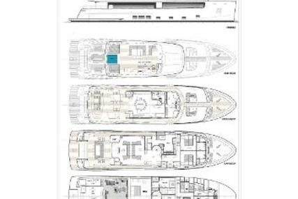 Cantiere delle Marche Nauta Air 108 for sale in United States of America for €11,300,000 (£10,098,392)