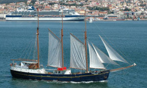 Image of Custom Schooner 3-masted for sale in Portugal for €1,650,000 (£1,476,893) Lisbon, Portugal