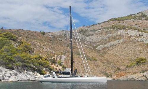 Image of Marsaudon Composites 62 ft Cruiser Racer Trimaran for sale in Sint Maarten for €990,000 (£875,634) Sint Maarten