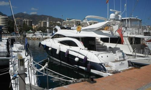 Image of Sunseeker Manhattan 56 for sale in Spain for €349,950 (£312,079) Malaga, , Spain
