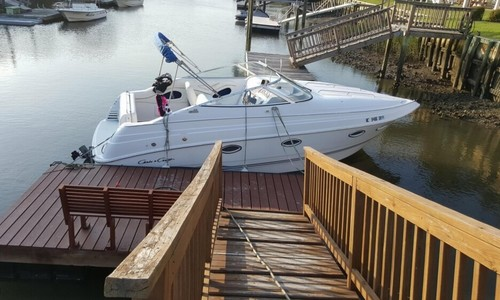 Image of Chris-Craft 260 Crowne for sale in United States of America for $15,000 (£11,309) Wilmington, North Carolina, United States of America