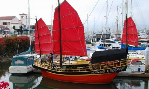 Image of Chinese Junk 34 for sale in United States of America for $122,300 (£87,329) Ventura, California, United States of America