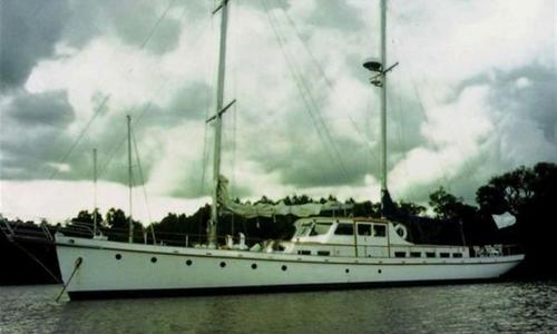 Image of Custom Ortholan Argentina Classic Motorsailer Ketch for sale in Argentina for $240,000 (£181,109) Buenos Aires, Argentina