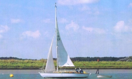 Image of Folkboat 25 for sale in United Kingdom for £6,000 River Alde, Suffolk, United Kingdom