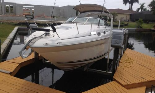 Image of Sea Ray 260 Sundancer for sale in United States of America for $18,000 (£13,956) Naples, Florida, United States of America