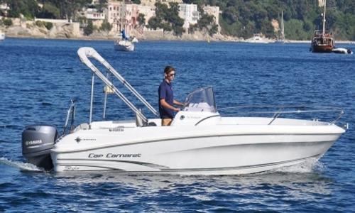 Image of Jeanneau Cap Camarat 5.5 CC Style for sale in France for €22,900 (£20,429) VILLENEUVE LOUBET, France