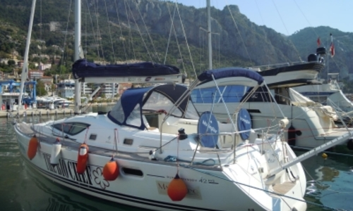 Image of Jeanneau Sun Odyssey 42 DS for sale in France for €90,000 (£80,290) MENTON, France