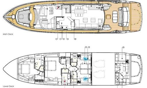 Image of SUNSEEKER 86 Yacht for sale in Singapore for €1,950,000 (£1,742,643) Singapore