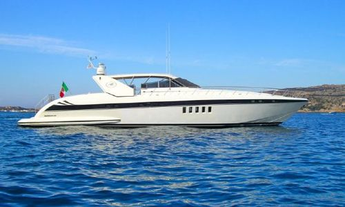 Image of Mangusta 80 for sale in Italy for €690,000 (£615,555) Italy