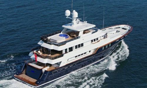 Image of RMK Marine 4500 for sale in Turkey for €19,000,000 (£16,892,643) Turkey