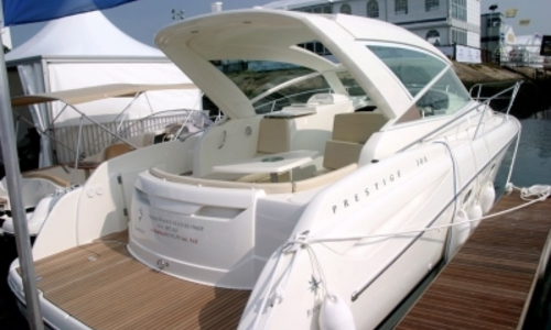 Image of Prestige 30 Sport Top for sale in Greece for €115,000 (£102,592) ATHENS, Greece